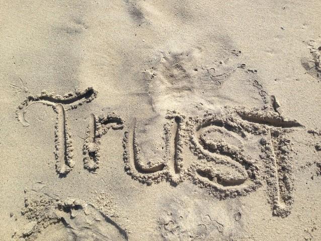 Trust in Sand