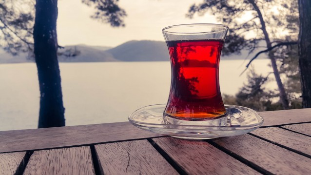 Tee-Glas-Natur