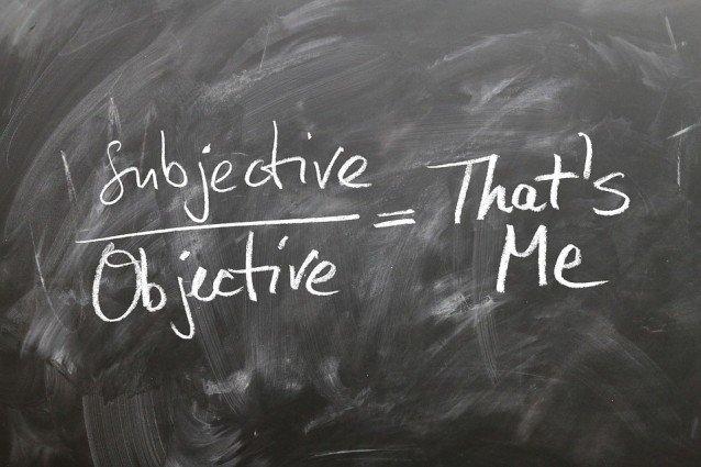 Objektivitaet-Subjektivitaet